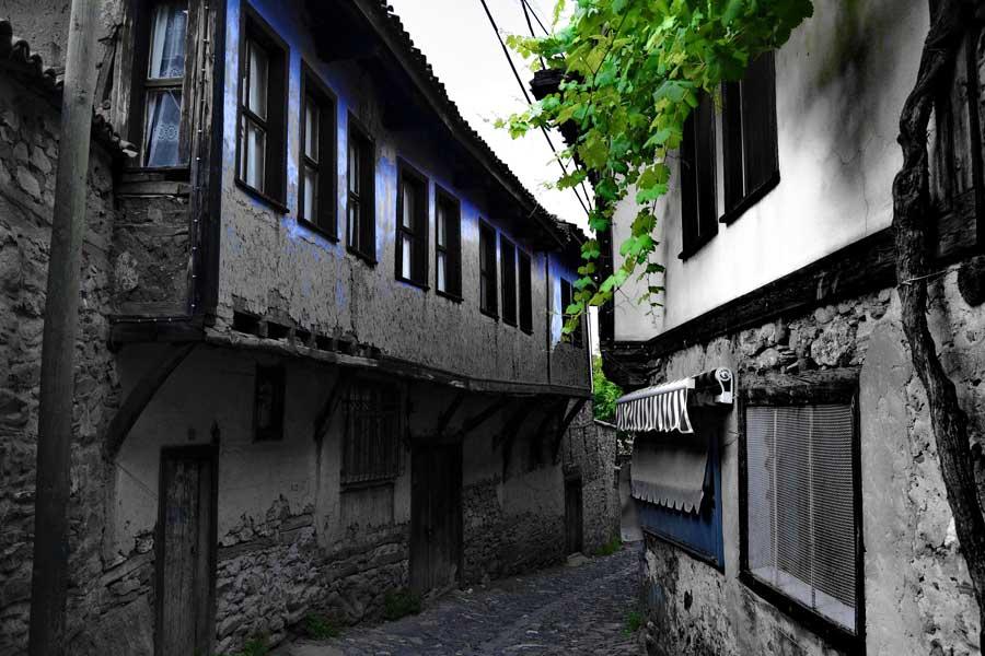 Cumalıkızık köy fotoğrafları, tarihi geleneksel Cumalıkızık köyü evleri - Historical typical Cumalikizik Village houses photos