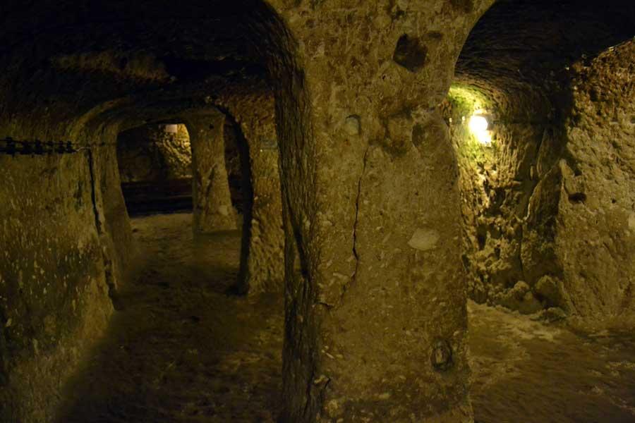 Derinkuyu yeraltı şehri, Nevşehir Göreme, Ürgüp, Kapadokya fotoğrafları - Derinkuyu underground city, Cappadocia photos