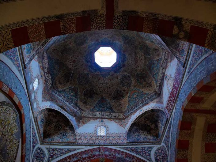 Edirne Eski Cami fotoğrafları cami kubbesi - Edirne Old Mosque photos