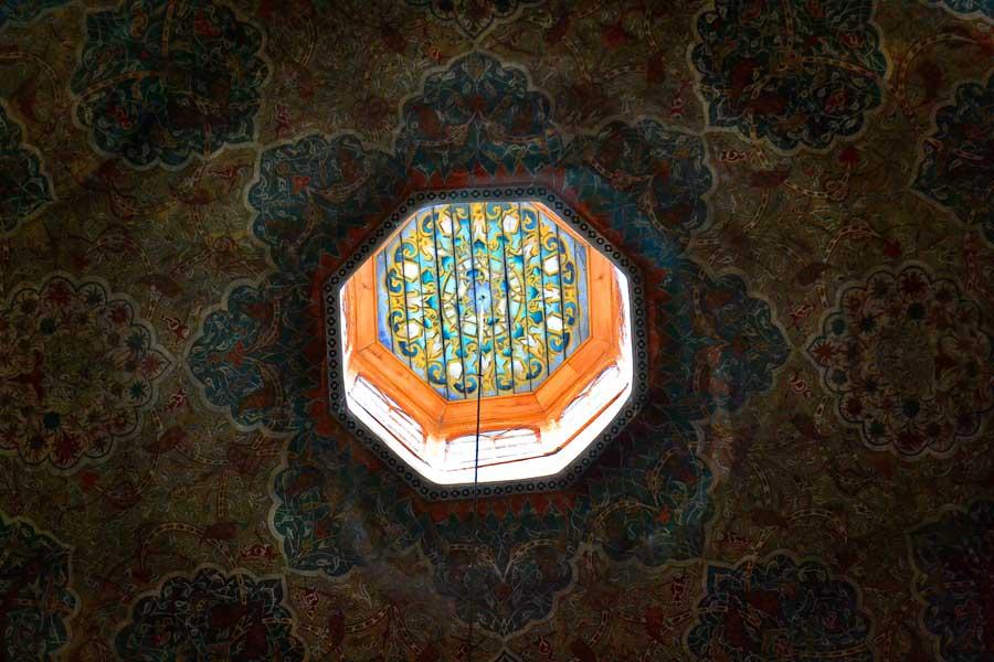 Eski Cami fotoğrafları kubbe içi Edirne - Old Mosque photos