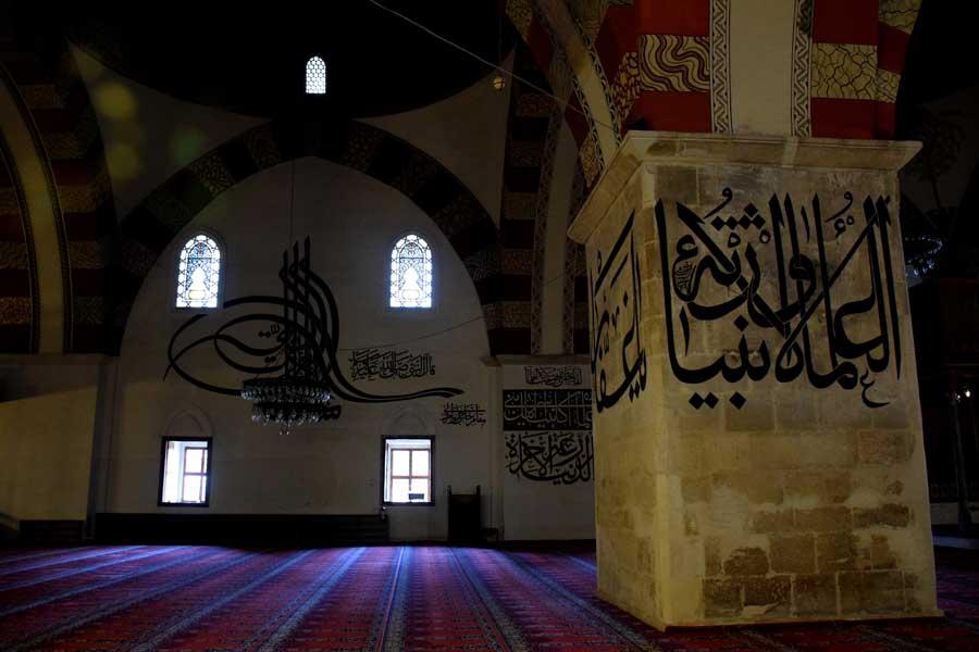 Eski Cami hat sanatı fotoğrafları - Edirne Old Mosque photos