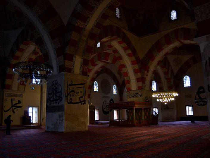Eski cami Edirne fotoğrafları - Islamic calligraphy Old Mosque photos