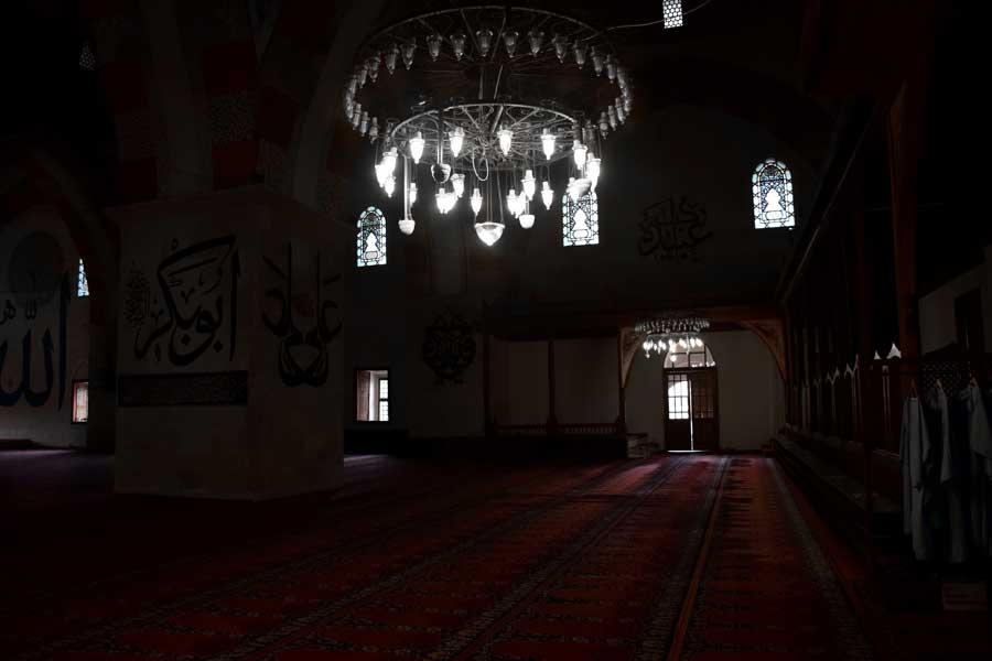Eski cami içi Edirne Eski Cami fotoğrafları - interior Old Mosque photos