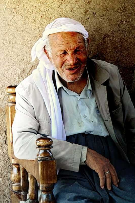 Güneydoğu Anadolu güzergahı Harran'da hayatın izleri yüzünde - Southeastern Anatolia route photos a man with life traces on his face, in Harran