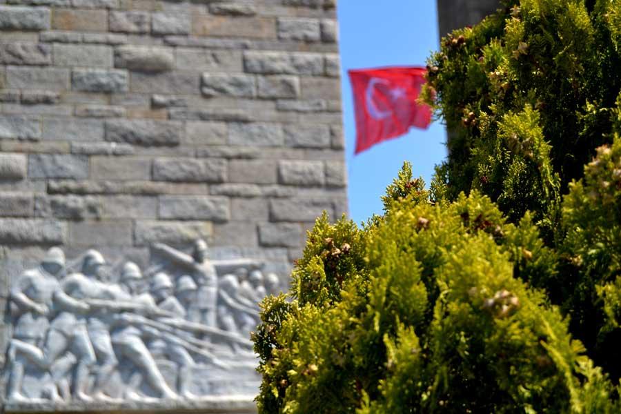 Gelibolu Şehitler abidesi fotoğrafları - Gallipoli photos Canakkale Martyrs' Memorial