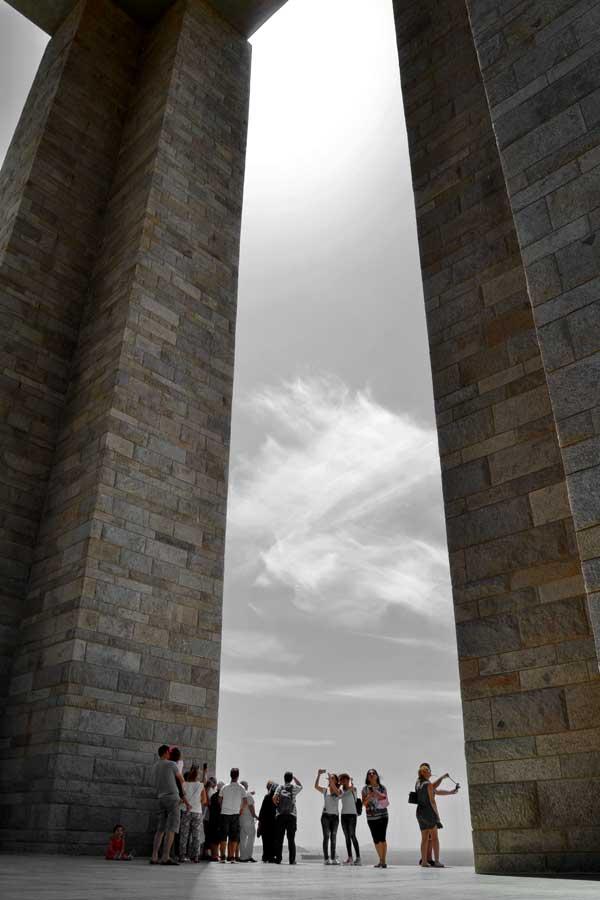Gelibolu Şehitler abidesi fotoğrafları - Turkey Canakkale Martyrs' Memorial