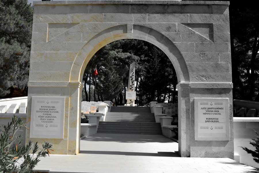 Gelibolu şehitlikleri Sargıyeri Şehitliği fotoğrafları - Gallipoli photos Sargiyeri martyrdom