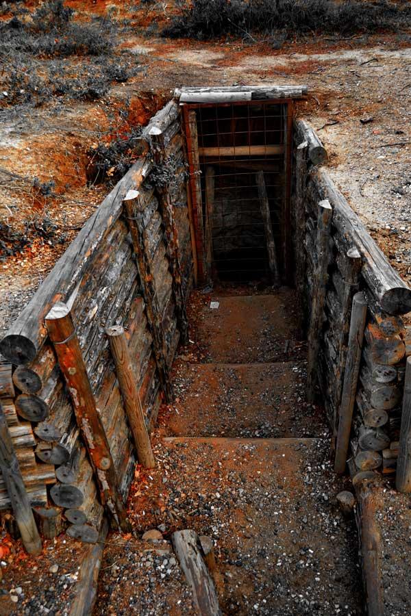 Gelibolu Conkbayırı siperleri - Gallipoli photos trenches in Conkbayiri