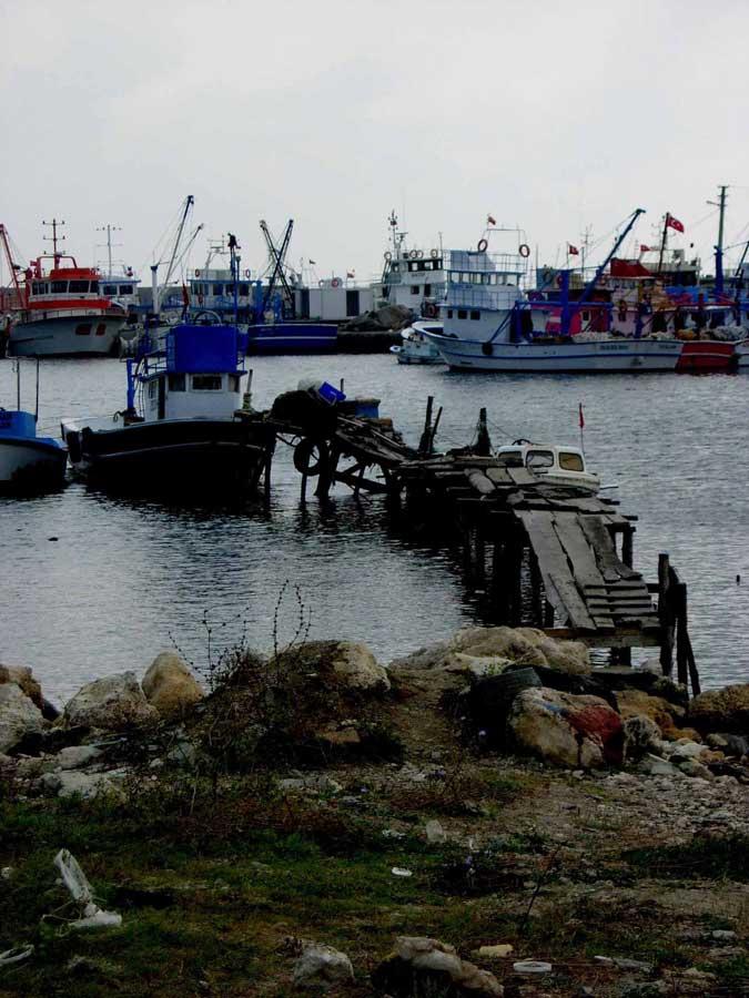 Gelibolu Dupnisa güzergahı Kıyıkoy'de balıkçılara rastgele dedik - Gallipoli Dupnisa route wished good luck to the fisherman in Kiyikoy