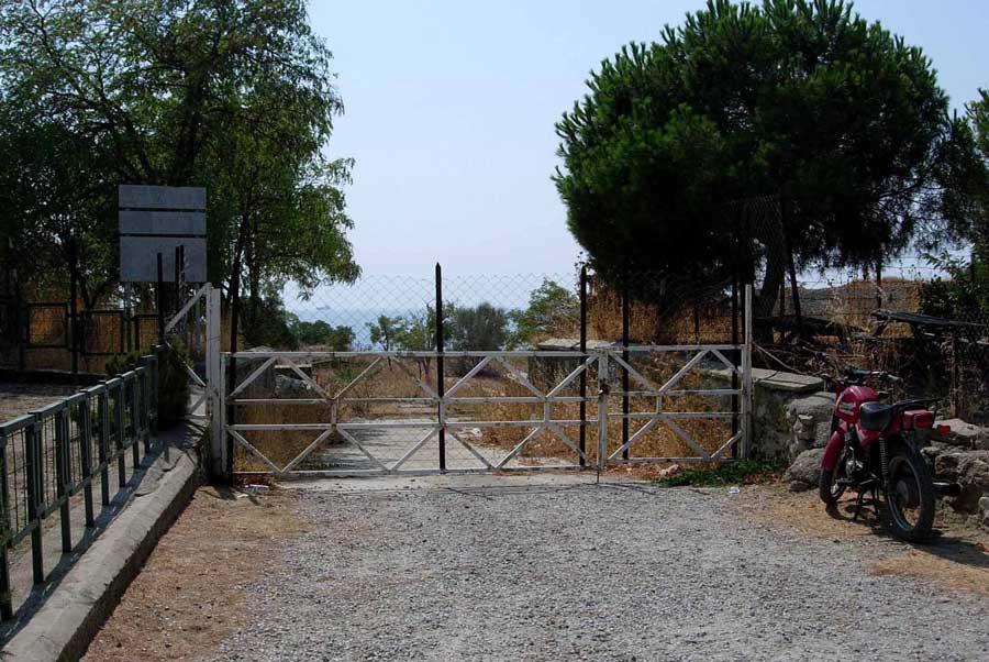 Gelibolu Dupnisa güzergahı Seddülbahir kalesinde kapılarda kaldık - they locked the gates of Seddulbahir fortress