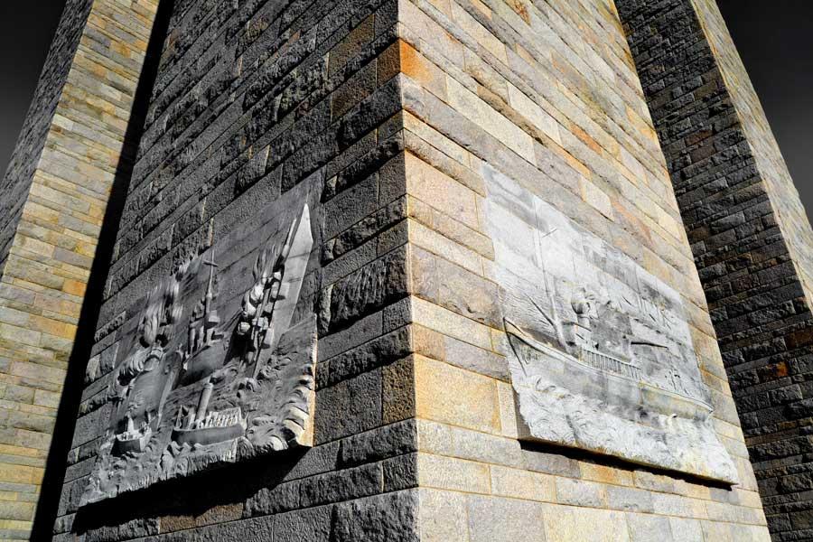 Gelibolu fotoğrafları Şehitler abidesi - Canakkale Martyrs' Memorial Turkey Gallipoli