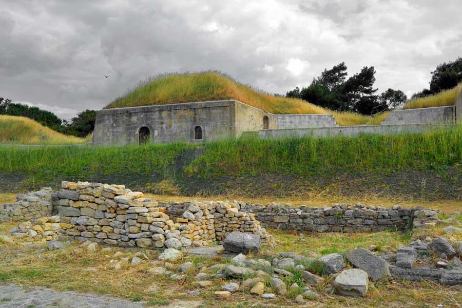 Gelibolu fotoğrafları Namazgah Tabyası Kilitbahir - Gallipoli photos Namazgah artillery battery, Kilitbahir