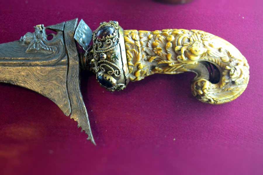 Harbiye Askeri Müze eserleri Kama sapı - Istanbul Military Museum wedge stem