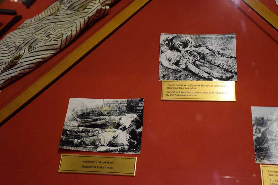 Harbiye Askeri Müzesi Belgelerle Ermeni sorunu odası - Room of Armenian question with documents, Military Museum