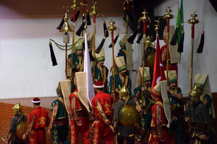 Harbiye Askeri Müzesi Mehteran gösterisi - Show of Mehteran, Military Museum