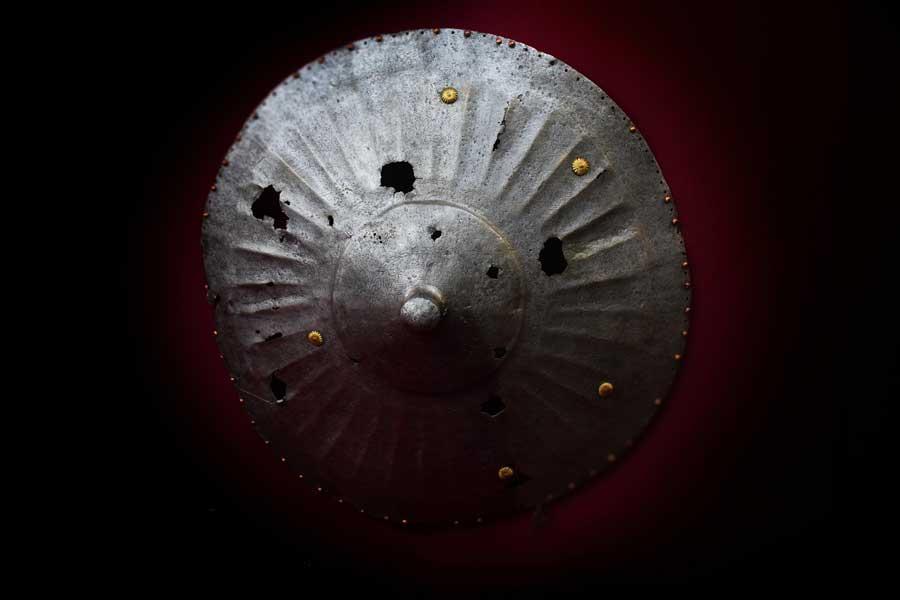 Harbiye Askeri Müzesi eserleri Demir Kalkan, Osmanlı 16.yy. - Iron Shield, Ottoman. 16th Century, Military Museum