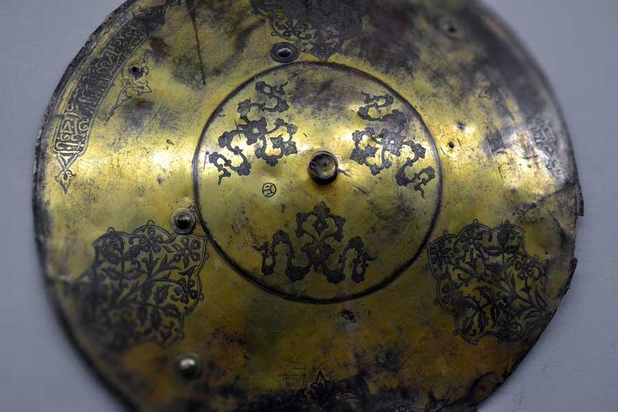 Harbiye Askeri Müzesi eserleri Kalkan - Shield, Military Museum