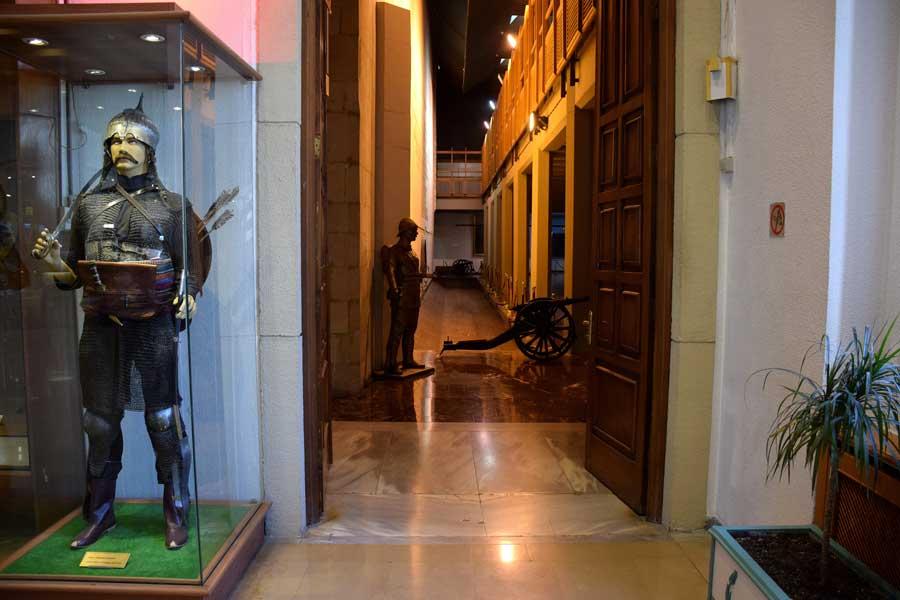 Harbiye Askeri Müzesi fotoğrafları Zırhlı Osmanlı askeri - Ottoman soldier with mail, Military Museum