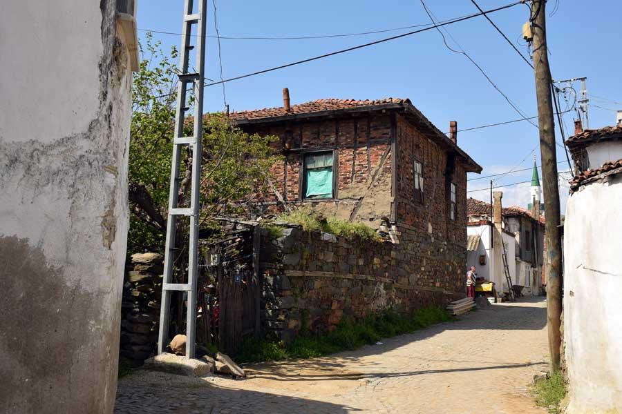 Kapıdağ yarımadası Ballıpınar köyü tarihi evi Erdek - Kapidag peninsula Ballica village historical houses Bandirma Turkey
