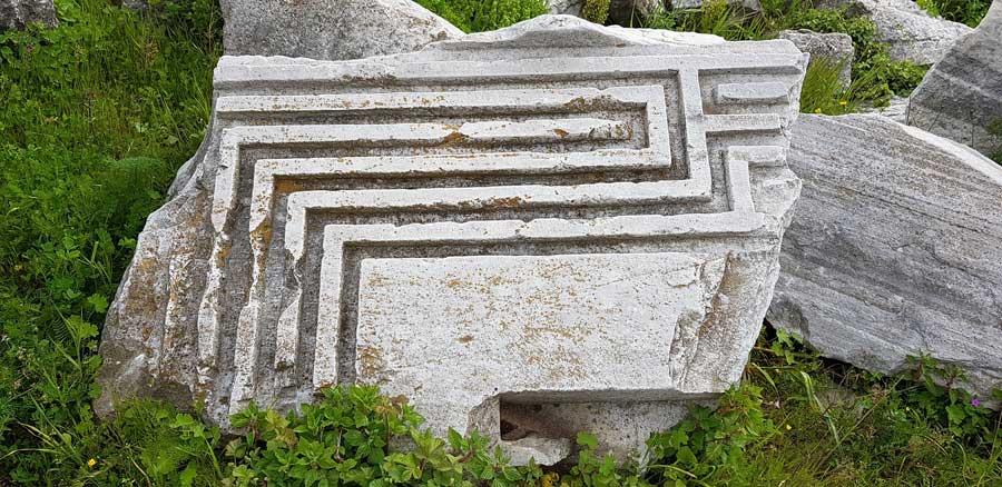 Kapıdağ yarımadası Kyzikos antik kenti kalıntıları Erdek fotoğrafları - Kapidag peninsula ruins of Kyzikos ancient city Bandirma
