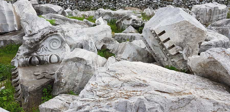 Kapıdağ yarımadası fotoğrafları Kyzikos antik kenti kalıntıları Erdek - Kapidag peninsula ruins of Kyzikos ancient city Bandirma