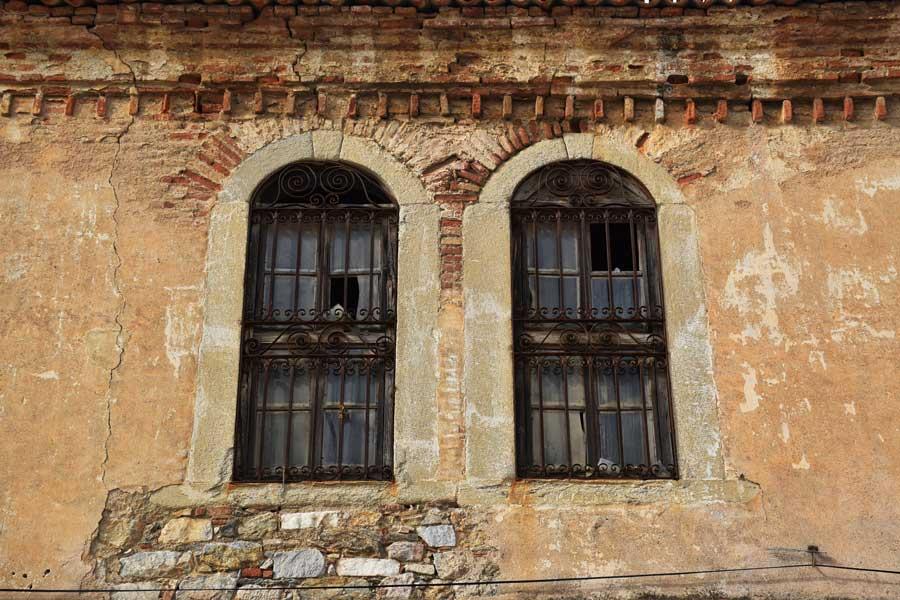 Kemer köyü Biga ilçesi rum evleri Çanakkale - Greek house, Kemer village Biga district