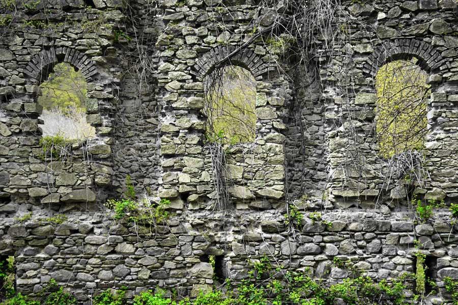 Kirazlı manastırı kalıntıları Kapıdağ yarımadası Balıkesir - Ruins of Kirazlı monastery Kapidag peninsula Erdek Turkey