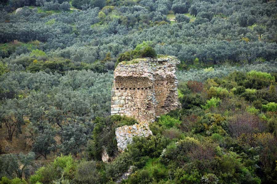 Kyzikos antik kenti arena harabesi Bandırma fotoğrafları - Kyzikos ancient city ruins of Arena, Erdek Turkey