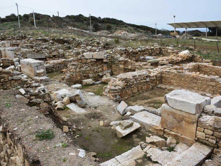 Parion Kemer Biga ilçesi agora ve dükkanlar Parion antik kenti fotoğraflar - agora and shops, Parion ancient city