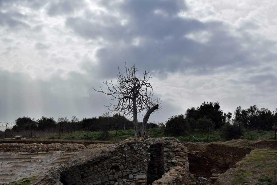 Parion antik kenti fotoğrafları Kemer, Biga, Odeion - Odeon, Parion ancient city Marmara region Turkey
