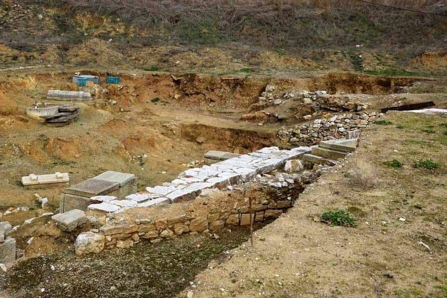 Parion antik kenti fotoğrafları Nekropol alanı - Necropol Parion ancient city photos