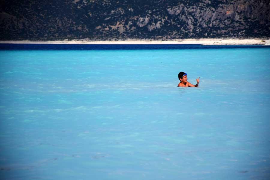 Salda gölü Akdeniz bölgesi Burdur - Turkey the Mediterranean region Salda Lake photos