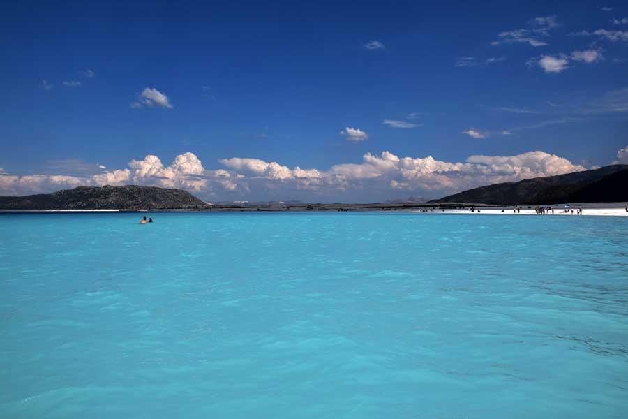 Salda gölü fotoğrafları Saldivler veya Türkye'nin Maldivleri Burdur - the Mediterranean region Salda Lake photos