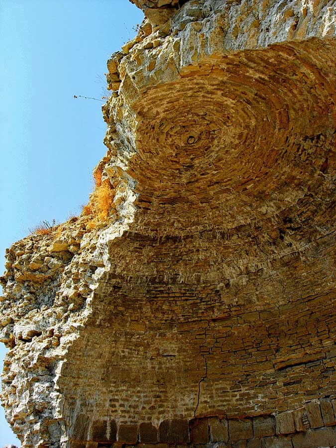 Seddülbahir Kalesi güney kulesi (eski fotoğraf 2012), Seddülbahir fotoğrafları - Sedd el Bahr Fortress south tower, Sedd el Bahr photos