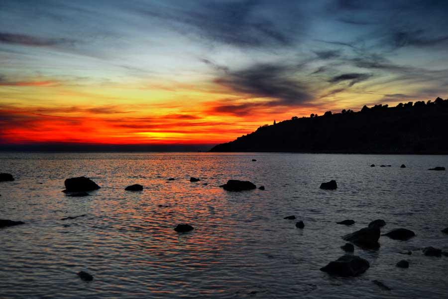 Seddülbahir köyü fotoğrafları Ertuğrul koyu - Gallipoli Seddulbahir photos, V Beach at Sedd el Bahr