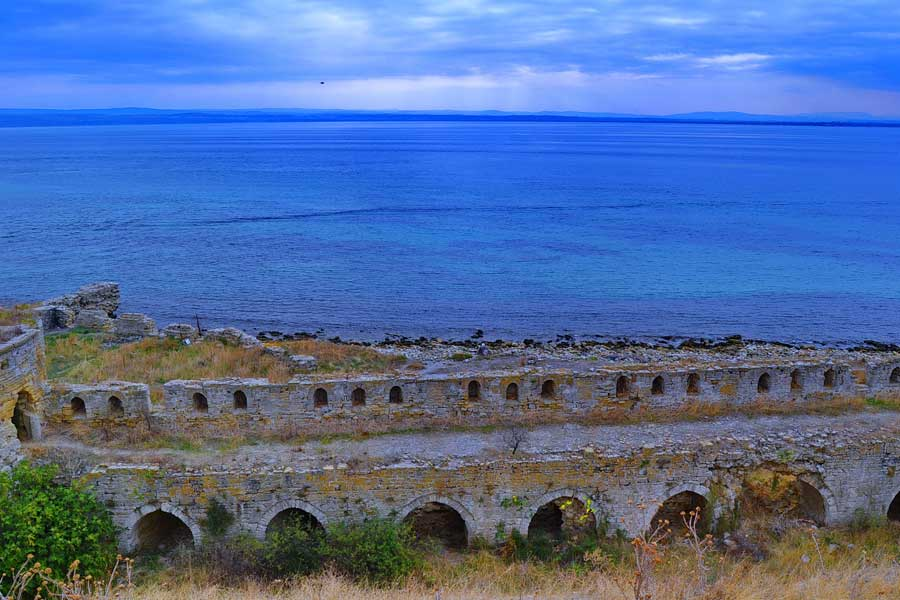 Seddülbahir kalesi deniz burçları (eski fotoğraf 2012) Seddülbahir fotoğrafları - Sea Wall of Sedd el Bahr Fortress, Gallipoli Sedd el Bahr photos