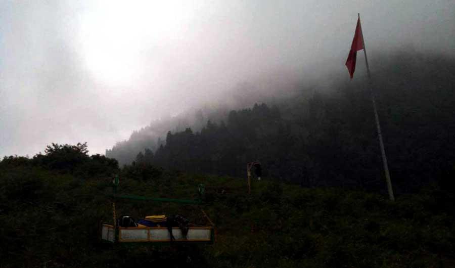 Trans Karadeniz güzergahı Rize Ayder yaylası taşıdık - Trance Black Sea route Rize Ayder plateau carried the luggage.