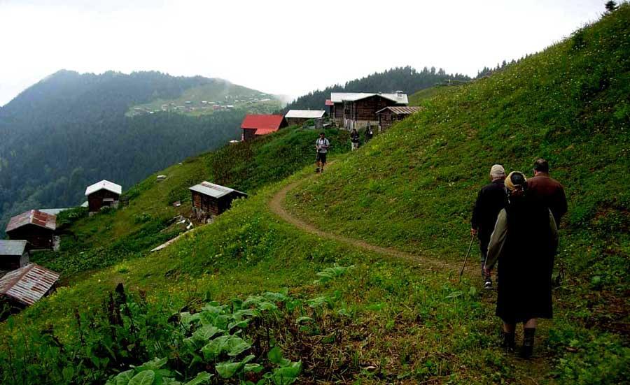 Trans Karadeniz güzergahı fotoğrafları Pokut yaylası havadisleri aldık - Trance Black Sea route got the news Rize Pokut plateau.