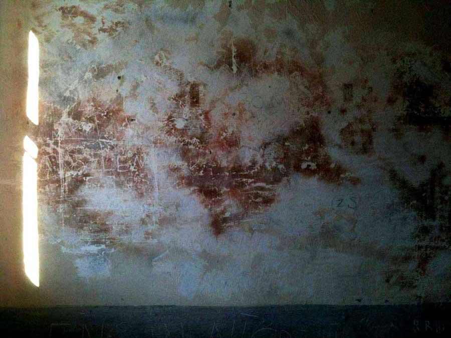 Trans Karadeniz güzergahı fotoğrafları Sinop Cezaevi duvarlarda yazanları okuduk - Trance Black Sea route photos writings on the wall in sinop prison