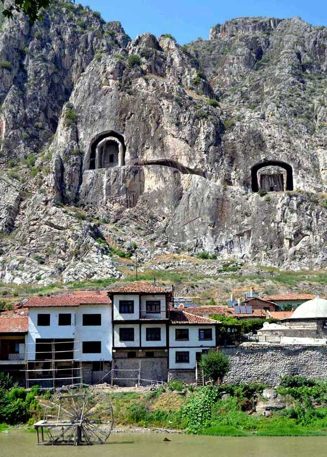 Trans karadeniz güzergahı Amasya tablo gibi seyrettik - Trance Black Sea route photos watched as a painting Amasya