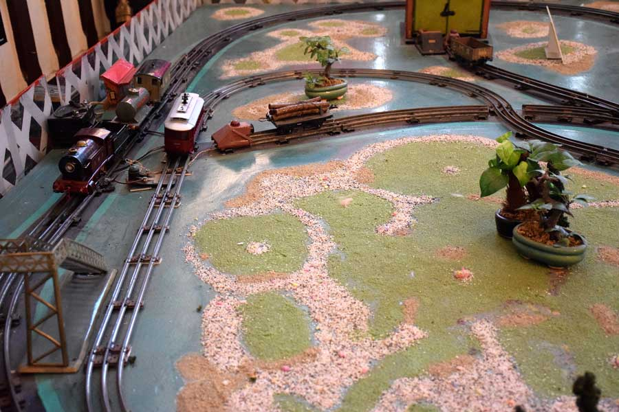 Tren ve trenyolu maketi, İstanbul Demiryolu Müzesi fotoğrafları - Train and railway model, Istanbul Railway Museum photos