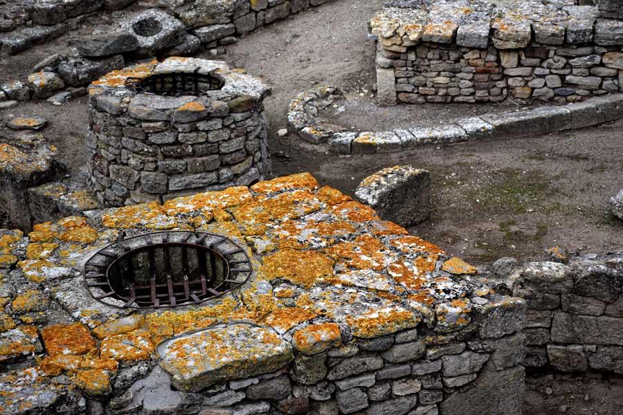 Troya antik kenti fotoğrafları, Kutsal tören alanı - Sacred ritual ground, Troy ancient city photos