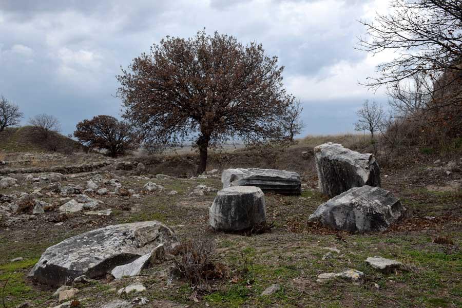 Troya antik kenti harabeleri- Ruins of Troy ancient city, Troy photos