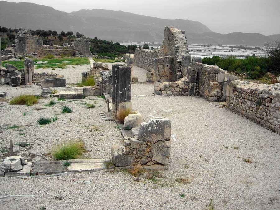 Xanthos antik kenti Thermes kalıntıları - Thermes Ruins, Xanthos photos