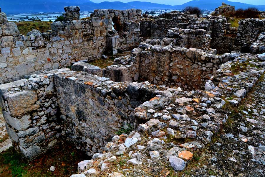 Xanthos Antik Kenti - Xanthos Ancient City