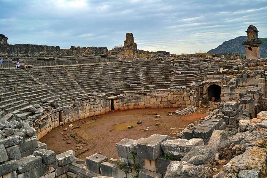 Xanthos Antik Kenti Eserleri ve Bilgileri (Ksantos veya Ksanthos)