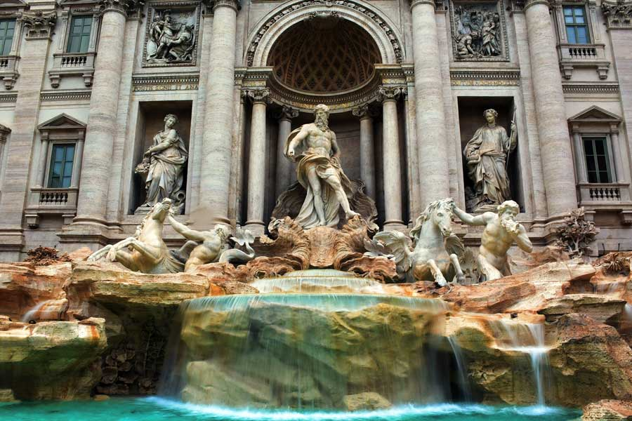 Roma Trevi Çeşmesi veya Aşk Çeşmesi, Vicus Caprarius