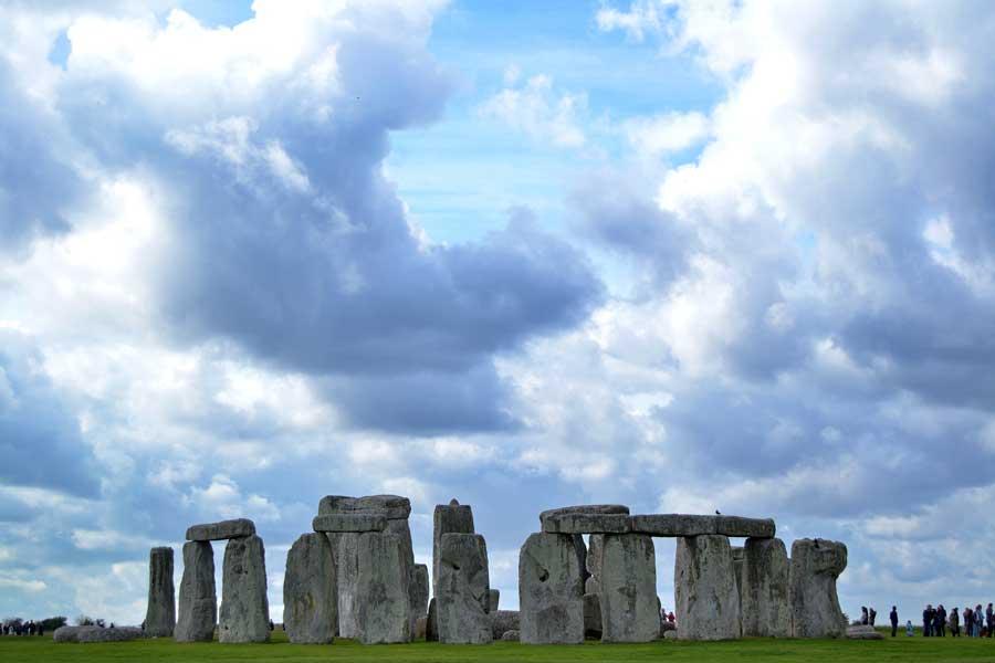 İngiltere Stonehenge fotoğrafları - England Stonehenge prehistoric monument