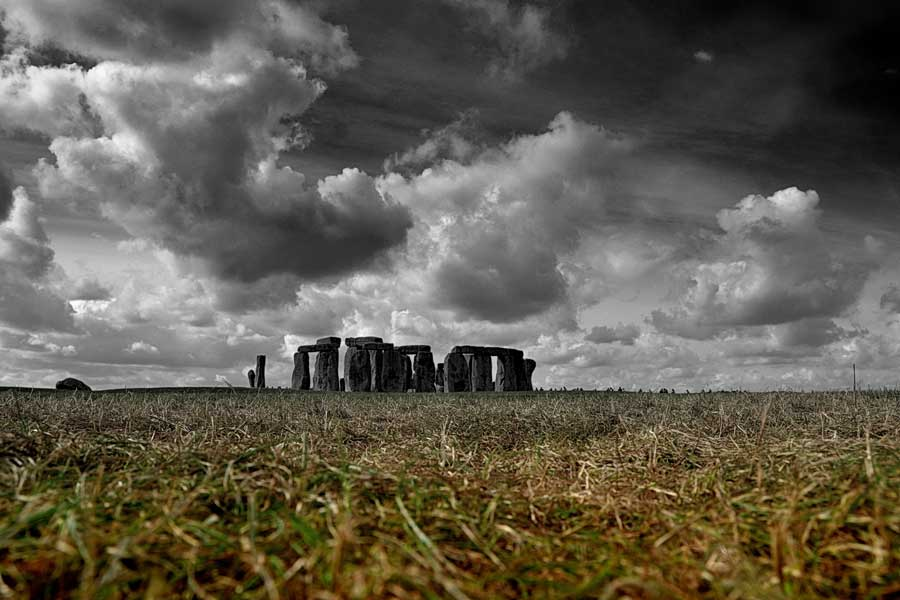 İngiltere görülecek yerler Stonehenge anıtı fotoğrafları - England Stonehenge prehistoric monument