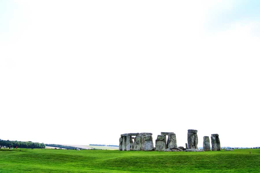 İngiltere görülmesi gereken yerler Stonehenge anıtı fotoğrafları - England Stonehenge prehistoric monument